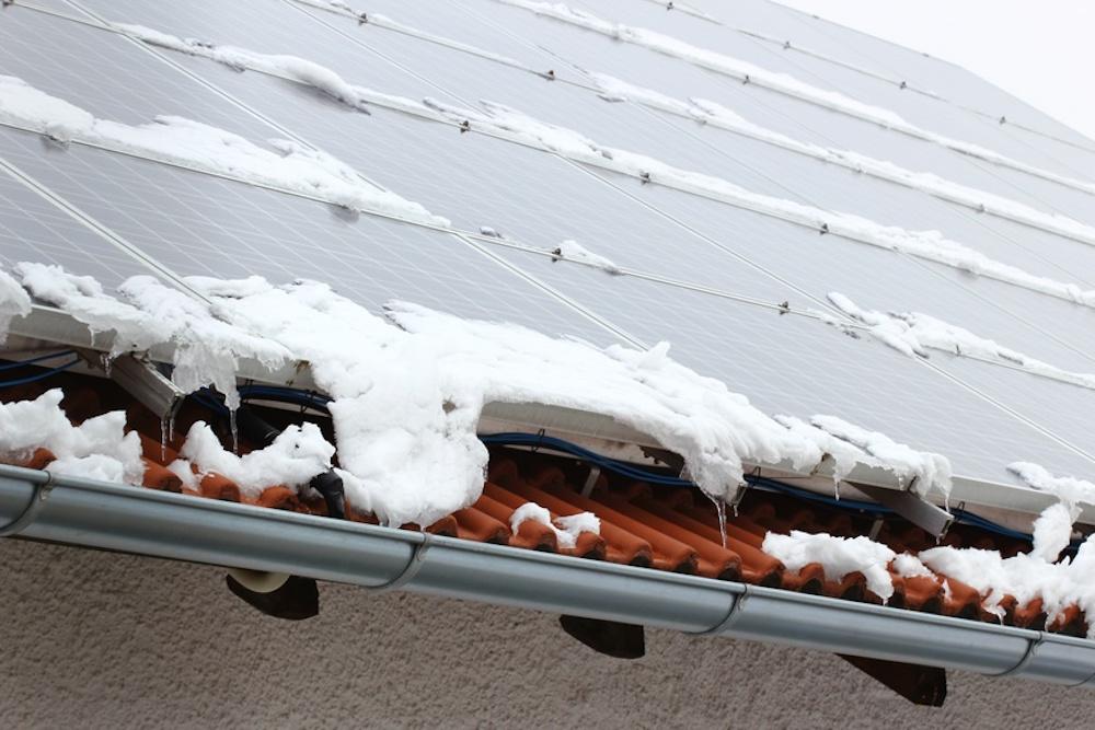 Photovoltaik-Anlagen: Schutz vor Wind und Schnee